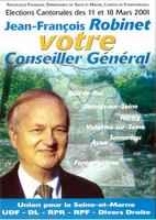 Vignette J.F Robinet - Cantonale (2001)