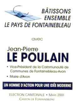 JPLP bulletin vote cantonale 2001 Image