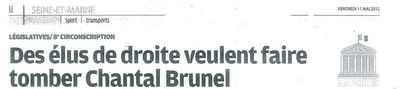 Le Parisien du 11 mai 2012