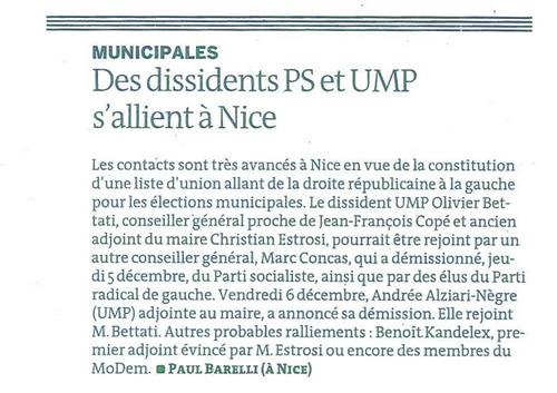 Le Monde du 8 & 9 décembre 2013